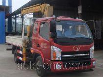 十通牌STQ5101JSQN4型随车起重运输车