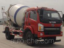 十通牌STQ5151GJBN4型混凝土搅拌运输车