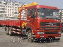 十通牌STQ5251JSQS4型随车起重运输车