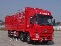 十通牌STQ5253CCYD5型仓栅式运输车