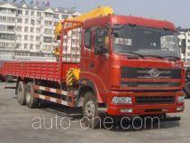 十通牌STQ5259JSQS4型随车起重运输车