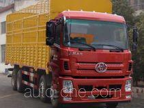 十通牌STQ5312CCYB5型仓栅式运输车