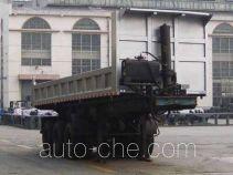 十通牌STQ9402ZZX型自卸半挂车