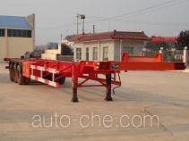 通亚达牌STY9360TJZG型集装箱半挂牵引车