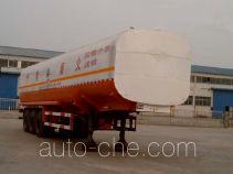通亚达牌STY9402GHY型化工液体运输半挂车