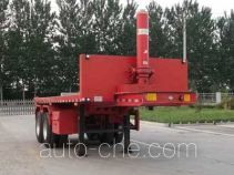 Liangxiang SV9350ZZXP flatbed dump trailer