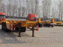 Liangxiang SV9400TWY dangerous goods tank container skeletal trailer