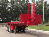 Liangxiang SV9400ZZXP flatbed dump trailer