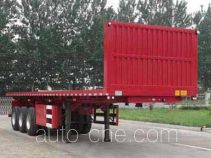 Liangxiang SV9401ZZXP flatbed dump trailer