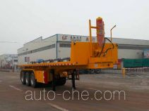 Liangxiang SV9403ZZXP flatbed dump trailer