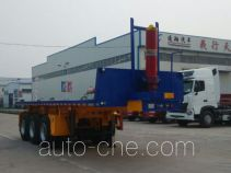 Liangxiang SV9404ZZXP flatbed dump trailer