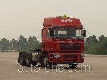 Shacman SX4256NV324W dangerous goods transport tractor unit