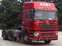陕汽牌SX4256NX3246型集装箱半挂牵引汽车