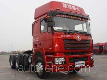 陕汽牌SX4257NR324HM型甲醇/柴油双燃料牵引汽车