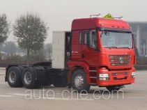 Shacman SX4258GV384TLW1 dangerous goods transport tractor unit