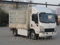 Shacman SX5040CCYBEV4 электрический грузовик с решетчатым тент-каркасом