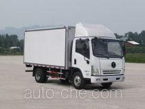 Shacman SX5040XBWGP4 insulated box van truck