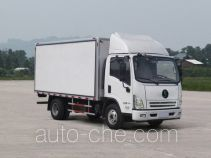 Shacman insulated box van truck