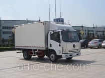 Shacman SX5040XLCGP4 refrigerated truck