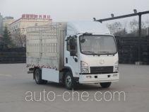 陕汽牌SX5070CCYBEV1型纯电动仓栅式运输车