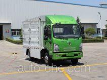 陕汽牌SX5070CCYBEV4型纯电动仓栅式运输车