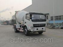 陕汽牌SX5100GJBGD4型混凝土搅拌运输车