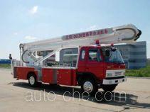 Jinhou SX5120JXFDG24 aerial platform fire truck