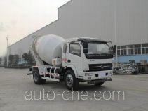 陕汽牌SX5140GJBGP4型混凝土搅拌运输车