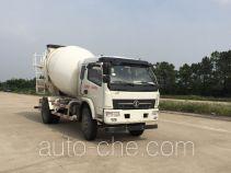 陕汽牌SX5140GJBGP5型混凝土搅拌运输车