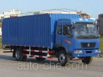 Shacman SX5160XXYPP soft top box van truck