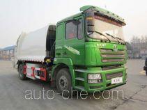Shacman extended range hybrid garbage compactor truck