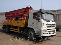 陕汽牌SX5180THBGP5型混凝土泵车