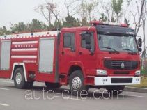 金猴牌SX5190GXFPM75型泡沫消防车