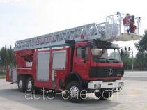 金猴牌SX5240JXFYT40型云梯消防车