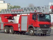 金猴牌SX5241JXFYT40型云梯消防车