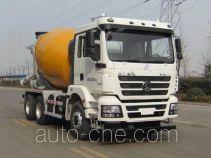 陕汽牌SX5256GJBMK324型混凝土搅拌运输车