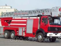 金猴牌SX5250JXFYT30型云梯消防车