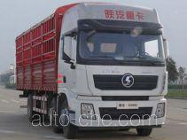 陕汽牌SX5256CCY4K549型仓栅式运输车