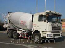 陕汽牌SX5256GJBDT384型混凝土搅拌运输车
