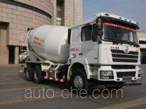 陕汽牌SX5256GJBDT404型混凝土搅拌运输车