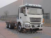 Shacman SX5250GJBMB4 concrete mixer truck chassis