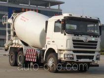 陕汽牌SX5258GJBDR384TL型混凝土搅拌运输车