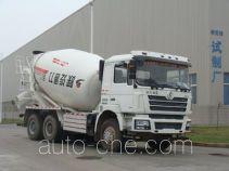 陕汽牌SX5258GJBDT434TL型混凝土搅拌运输车