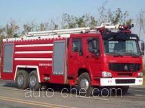 Jinhou SX5290GXFSG130 fire tank truck