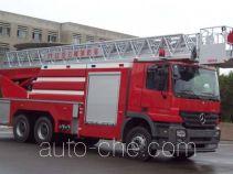 金猴牌SX5290JXFYT32型云梯消防车