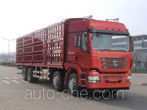 陕汽牌SX5316CCQGR456型畜禽运输车