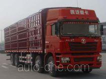 陕汽牌SX5316CCQNM456型畜禽运输车