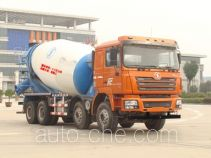 陕汽牌SX5316GJBDT366型混凝土搅拌运输车