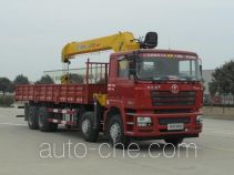 Shacman SX5316JSQDR456 truck mounted loader crane