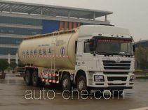 陕汽牌SX5318GFLNT466TL型低密度粉粒物料运输车